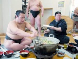 相撲部屋のちゃんこ鍋