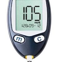 糖尿病の血糖値を測定