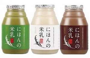 日本のライスミルク