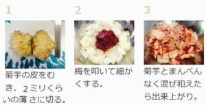 菊芋の料理法