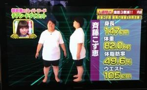 糖尿病予備軍の斎藤こず恵にはチアシードダイエットが良い