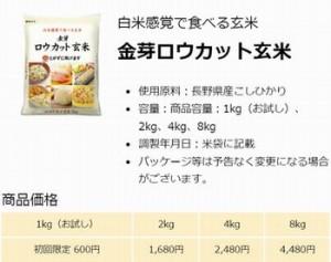 ロウカット玄米は糖尿病に良い
