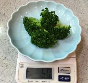ブロッコリー100gを食べれば糖尿病に良い