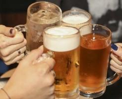 糖尿病のリスクを上げないように酒の量は控えめに