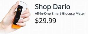 iPhone7で血糖値が測れるのはDarioのデバイスです