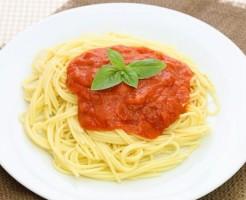 スパゲッティーはうどんより血糖値を上げないので糖尿病に良い食材です