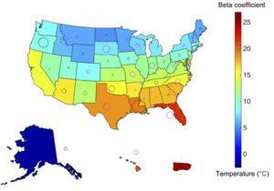 地球温暖化で気温が上がると褐色脂肪が働かず糖尿病が増加する