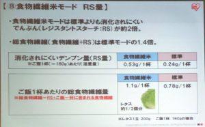 レジスタントスターチを2倍にするアイリスオーヤマの炊飯器は血糖値が高くても安心