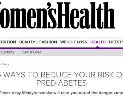 6つの方法で糖尿病は予防できる