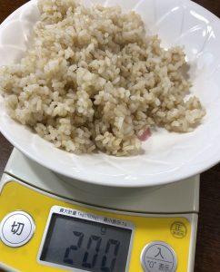 玄米カレーで血糖値が下がることをフリースタイルリブレで調べました