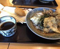 フリースタイルリブレで天ぷら蕎麦を食べた後の食後高血糖を測定したならない