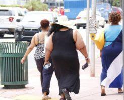 肥満では糖尿病のリスクが高い